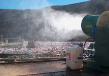Odour and Dust Control at Landfill Sites