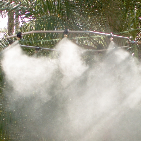 Nozzle Based Mist Cooling Systems